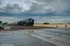 UNION PACIFIC--844 at Carr, CO SB (milantram) Tags: unionpacific unionpacificsteam up844 denverpostfrontierdaystrain bigsteamlocos steamlocomotives passengertrains trains