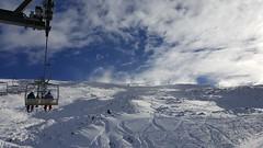 Cardrona (elisewatson) Tags: chair lift cardrona snow snowboard sunny winter wanaka mountain bluebird