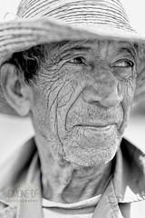 Rafael (Simone Della Fornace) Tags: old portrait people blackandwhite white man black face hat person sony cuba farmer cuban vinales wrinkles bianco ritratto nero biancoenero a7rii