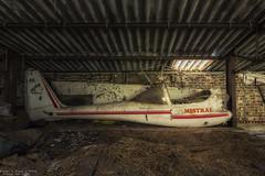 I'm like a bird (Dennis van Dijk) Tags: mistral plane air travel barn farm urbex urbanexploration decay derelict forgotten abandoned rust dust lost found eu ue