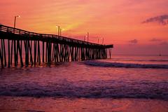 Golden Pier (instant_Focus) Tags: beach pier sunrise ocean fuji