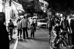 Streets of Mussoorie (DSF_8745) (Param-Roving-Photog) Tags: life tourists people chaos crowd fascinating mallroad mussoorie uttarakhand travel india streetphotography hillstation himalayas popular evening blackandwhite bw