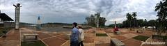 Las Tres Fronteras (Stefan Lambauer) Tags: argentina misiones puertoiguaz 3fronteras fronteira border stefanlambauer 2016 ar panorama 180 parque iguazu parquenacionalpuertoiguazu