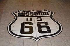 Route 66 Museum (Adventurer Dustin Holmes) Tags: 2016 lebanonmissouri lebanonmo route66museum peggypalmersummersmemoriallibrary lacledecounty missouri lebanonlacledecountylibrarycentrallibrary lebanonlacledecountylibrary route66 us66 floor