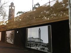 Sandstone Wall (phillipdumoulin) Tags: sydney australia nsw railway centralrailwaystation sandstone building history renovations clock