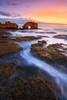 Bridgewater Bay (Mark McLeod 80) Tags: australia blairgowrie canonef1635mmf4lis keyholerock markmcleod markmcleodphotography mornigntonpeninsula sorrento sunset vic victoria longexposure seascape