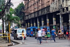 People in Cebu City (Geir Bakken) Tags: olympus omd em5 m43 mirrorless microfourthirds lovelycity longexposure people city cebu cebucity philippines asia asian woman olympusomdem5mark2 yabbadabbadoo