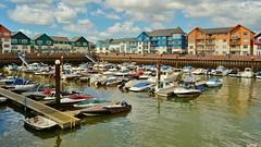 Exmouth Marina (Paula J James) Tags: exmouth england exmouthmarina marinas marina boats boat pontoons pontoon lymebay jurassiccoastline jurassiccoast