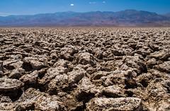 Devil's Golf Course (Ash and Debris) Tags: california devilsgolfcourse landscape desert salt pan mountains saltpan usa deathvalley valley