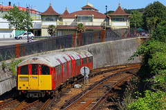 483004, Ryde Esplanade, Isle Of Wight, July 18th 2016 (Suburban_Jogger) Tags: 483004 004 class483 stagecoach islandline londontransport 38ts rydeesplanade isleofwight july 2016 summer canon 60d 1855mm train transport emu railroad electricmultipleunit vectis vehicle