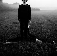 * (Lucy Zharikova) Tags: lucyzharikova lucyzharikovaphotographer bw film mediumformat melancholia analog 6x6 120mm mamiya tenderness mood