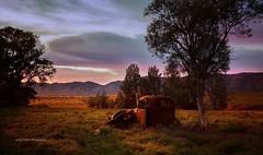 Old Wreck - Arkapena Flinders Ranges South Australia (Jacqui Barker Photography) Tags: southaustralia outback sunrise oldcarwreck flindersranges
