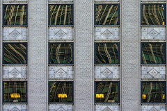 Chicago Windows (Valentina Sokolskaya) Tags: building chicago house modern symmetry usa architecture window reflection