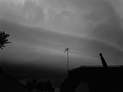 Amazing shelf cloud over Vantaa, Finland (J.Hiltunenn) Tags: stormchasing storm thunder rain evening finland shelfcloud