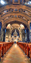 Basilica_Panorama5_tonemapped_Painterly2 (Sol Leonard) Tags: cathedral basilica church basilicaofstmary minnesota minneapolis twincities midwest photomatixpro hdr photoshop photostitching tonemapping tonemapped nikon nikond600 nikon18200mmf3556 wideangle panorama verticalpanorama