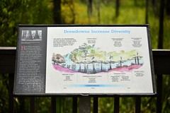 Diagram of Blue Elbow Swamp diversity (holdit.) Tags: tx texas visitorcenter swamp nature natural