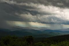 Blue Ridge Showers (EHPett) Tags: northcarolina outdoors landscape trees blueridgeparkway mountains rain clouds showers scenic weather