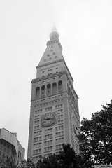 Metropolitan Life Insurance Tower (Canadian Pacific) Tags: newyork city state us usa unitedstates ofamerica america american manhattan aimg6830 building architecture bw photo image shot madison avenue 1 5 metlife metropolitan life insurance company co