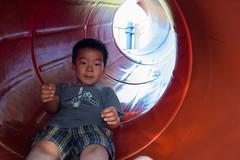 Afterschool Play #245b (acyee) Tags: acyeekaiduncanyee playground school slide tube