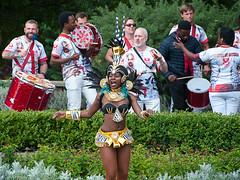Dancing to the Beat (McTumshie) Tags: hornimanbrazil 20160904 hornimancarnival hornimanmuseum london paraísoschoolofsamba carnival costumes dance dancing england unitedkingdom