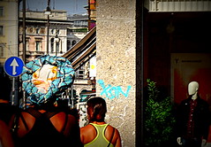 Incroci (lory6093) Tags: strret persone incroci centro citt