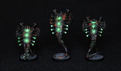 Necron Canoptek Wraiths (The Ninth Host) Tags: warhammer40000 w40k gamesworkshop miniatures necrons