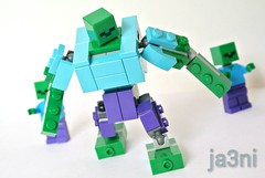 LEGO Minecraft MOC: Mutant Zombie (ja3ni) Tags: lego legomoc minecraft zombie