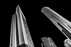 My city (247) (kruser1947 (all killer no filler)) Tags: bw blackwhite monochrome architecture highrise skyscraper melbourne
