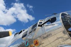 Yankee Lady (viktrav) Tags: fortwayneairshow airplanes yankeelady b17 flyingfortress