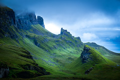 The Quiraing Re-edit (Christopher Combe Photography) Tags: skye scotland green mist clouds texture fujifilm xt1