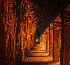 Golden passage (Stan Smucker) Tags: temple passage ruins architecture angkorwat travel landscape outdoors