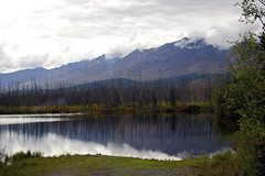 on the road again (scott1346) Tags: lake trees picturesque clouds fog overcast precipitation reflection 1001nights 1001nightsmagiccity autofocus contactgroups unspoiled beautiful spectacular
