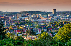 Sheffield Evening (Peter Quinn1) Tags: sheffield southyorkshire meersbrookpark heeley bramalllane sharrow city evening
