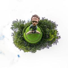 Mr. Bighead (HamburgerJung) Tags: hamburg germany deutschland altona altonavolkspark hugin nn5 nodalninja nodalninja5 pentaxk3 selfie me myself ich waldbhne