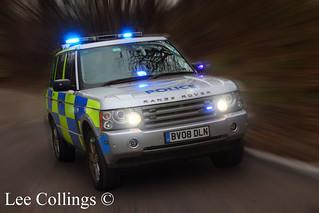 West Midlands Police Range Rover