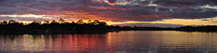 Cinco Bayou - Fort Walton Beach, Florida (fisherbray) Tags: sunset autostitch panorama usa water nikon wasser unitedstates florida fortwaltonbeach ftwaltonbeach fwb okaloosacounty d5000 cincobayou fisherbray
