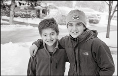 The Brothers - 9 February 2013 (Fogel's Focus) Tags: leica 33 summicron diafine wilmette 502 m4p rigid thebrothers film:iso=640 acufinediafine legacypro400 developer:brand=acufine developer:name=acufinediafine film:brand=freestylearista freestylearistalegacypro film:name=freestylearistalegacypro400 expired72011 filmdev:recipe=8328