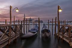 Gondolas (Trouvaille Blue) Tags: travel venice italy europe italia gondola venezia sanmarco rivadeglischiavoni trouvailleblue