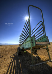 Parched (TRIM   Photography) Tags: ranch blue summer sky landscape dry wyoming climate trimphotography