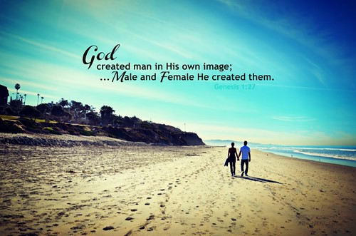 """Male and Female He created them..."" by Art4TheGlryOfGod, on Flickr"