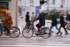 People on streets (osto) Tags: people bike bicycle denmark europa europe sony bicicleta zealand bici dslr scandinavia danmark velo fahrrad vlo rower cykel a300 sjlland  osto alpha300 osto february2013 fietssykkel