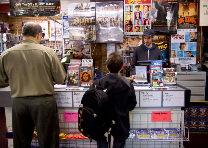 Spectator Photos A Changing Scene For Capitol Hill Movie Stores