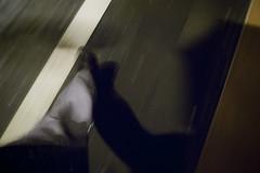 autorretrato en san nicols (www.jlosada.com and @jorge_losada on Instagram) Tags: street shadow selfportrait rain umbrella walking calle lluvia sombra autorretrato paraguas pamplona navarra jorgelosada