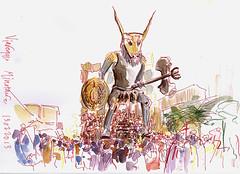 agnes_den_hartogh_viareggio4 (agnestekent / Agnes den Hartogh) Tags: carnevale viareggio minotaure