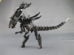 Mini LEGO Aliens Queen (ninbendo) Tags: lego colonial mini aliens queen marines xenomorph ninbendo ninbend0