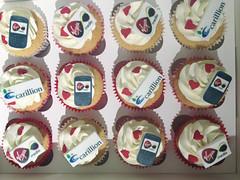 Corporate Valentine Cupcakes