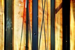 Demolition abstract (tanakawho) Tags: light abstract hot building texture metal skeleton wire demolition x line layer sheet postproduction tanakawho