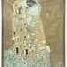"128. Gustav Klimt ""The Kiss"" Framed Print"
