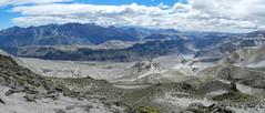 Panorama Lengua de Vulcano (Mono Andes) Tags: chile volcano andes volcán volcanoe regióndelmaule geología chilecentral lenguadevulcano lagunasdemondaca