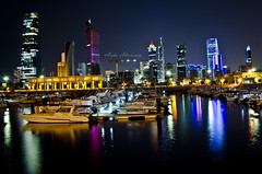 Kuwait City Night View (Aisha Altamimy) Tags: